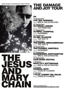 Jesus and Mary Chain UK Tour Dates